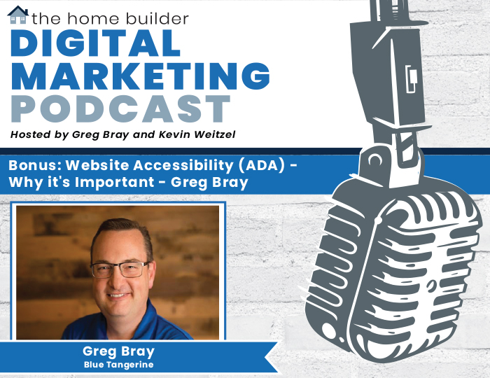 Bonus Episode #2: Website Accessibility (ADA) - Why it's Important - Greg Bray